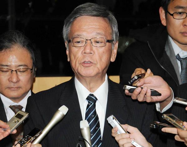 翁長知事は移設作業停止指示を出したが…(C)日刊ゲンダイ
