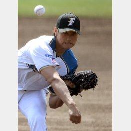 高卒3年目の開幕投手で白星(C)日刊ゲンダイ