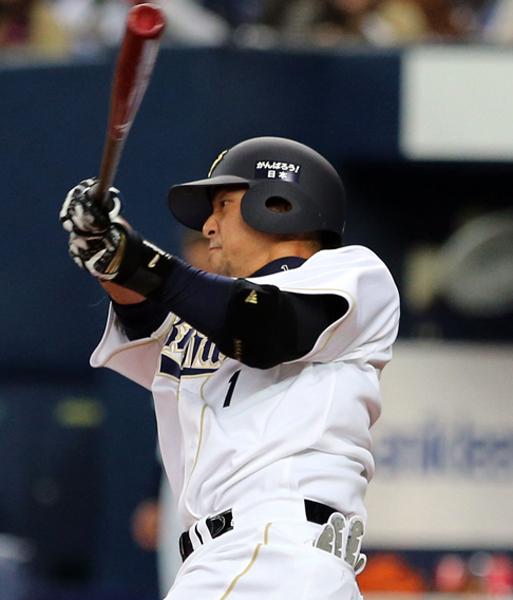 中島は六回に二塁打を放ったが…(C)日刊ゲンダイ