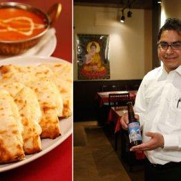 【インド・ネパール創作料理 スリスティ】カレーとチーズナンとビールを1杯!