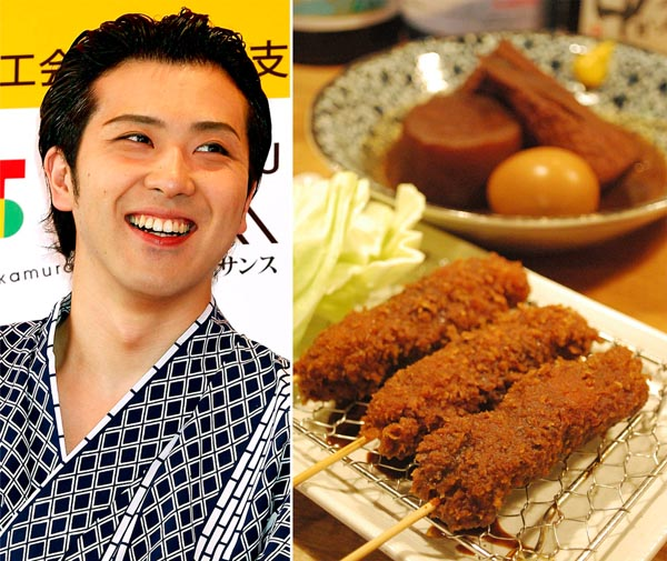 1番人気は「味噌串カツ」(C)日刊ゲンダイ