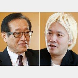 二木氏と津田大介氏