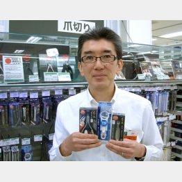 東急ハンズには約100種類の爪切りが揃う(C)日刊ゲンダイ