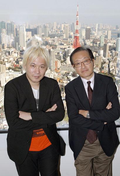 津田大介氏(左)と二木氏(C)日刊ゲンダイ