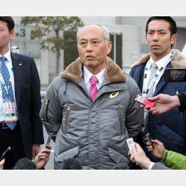 舛添都知事は1日から入院中(C)日刊ゲンダイ