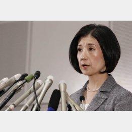 久美子社長はバッサリやるのか(C)日刊ゲンダイ