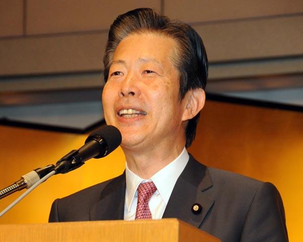 大阪で大苦戦の公明党・山口代表(C)日刊ゲンダイ