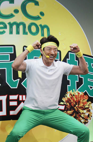 生歌を初披露した松岡修造(C)日刊ゲンダイ