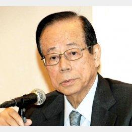 「拒否する理由はない」と福田元首相(C)日刊ゲンダイ