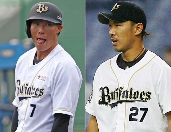 近年の「大型トレード」と言っても糸井(左)と八木(C)日刊ゲンダイ