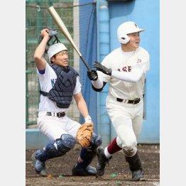 高校野球デビュー戦を飾った早実の清宮選手