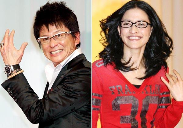 哀川翔(左)やイーオン社長の長女アンジェラ・アキも徳島出身(C)日刊ゲンダイ