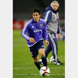武藤がJでプレーするのは6月まで(C)日刊ゲンダイ