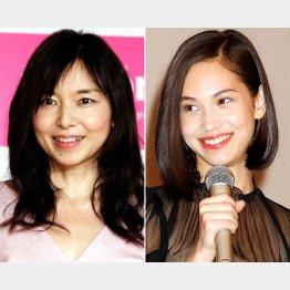 山口智子(左)と水原希子はどちらもウザイ女役