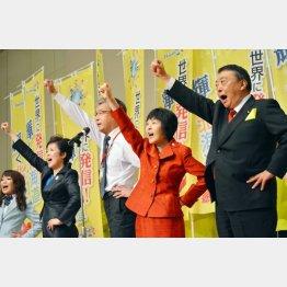 北海道は高橋はるみ氏が4回目の当選(C)日刊ゲンダイ