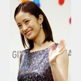 ドラマ終了後、産休に入る上戸彩(C)日刊ゲンダイ