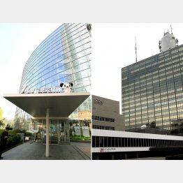 揺れるテレ朝とNHK(C)日刊ゲンダイ