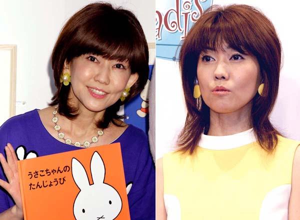 40歳当時(右)と変わらない美貌(C)日刊ゲンダイ