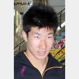 桐生は10秒40の平凡な記録で2位に終わった