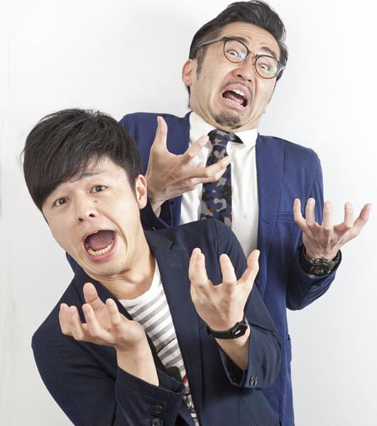 久保隆(左)と青井貴治(C)日刊ゲンダイ