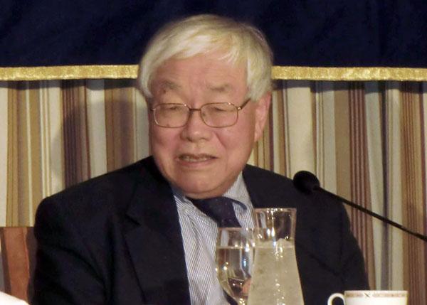 浜田宏一・エール大名誉教授(C)日刊ゲンダイ