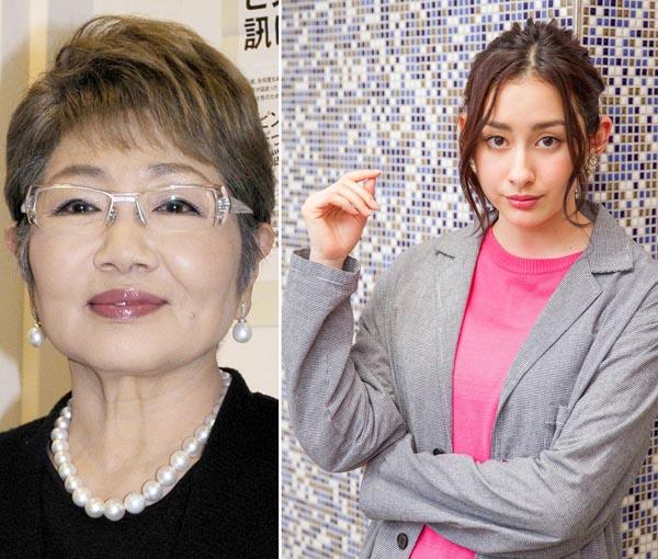 「マッサン」で親子を演じた2人(C)日刊ゲンダイ