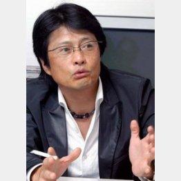 かつては月9ドラマのプロデューサーだった亀山社長(C)日刊ゲンダイ