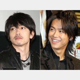 青柳翔(左)とTAKAHIRO(C)日刊ゲンダイ