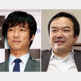 主演の堺雅人(左)と医師協力の和田秀樹氏(C)日刊ゲンダイ