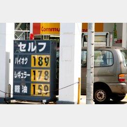 08年のガソリン高騰