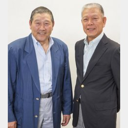 高橋義正氏(左)と山崎裕之氏