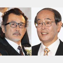 吉田鋼太郎(左)と志賀廣太郎/