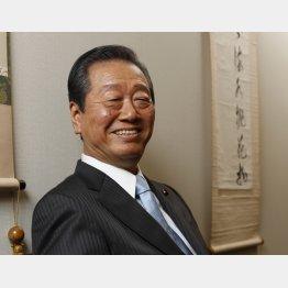 「今の国会は静かで葬式みたい」と小沢氏(C)日刊ゲンダイ
