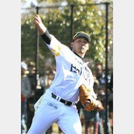 リハビリは順調な松坂(C)日刊ゲンダイ
