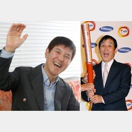 関根勤さん(左)と師匠の萩本欽一さん(C)日刊ゲンダイ
