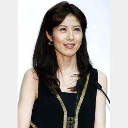 歯に衣着せぬ小島慶子(C)日刊ゲンダイ