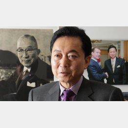 鳩山元首相(C)日刊ゲンダイ