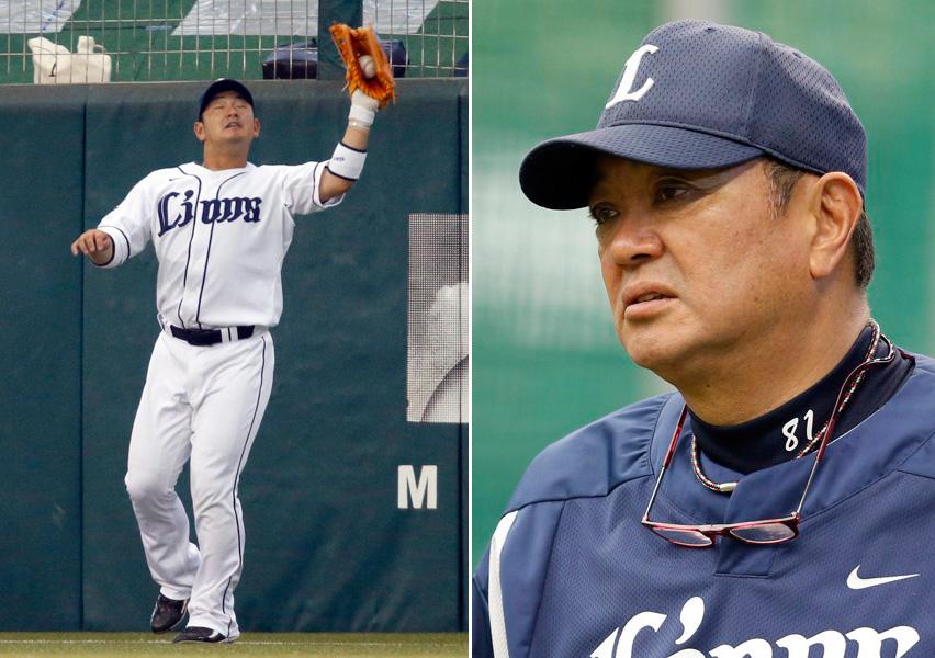 森友哉(左)と袴田ヘッド兼バッテリーコーチ(C)日刊ゲンダイ