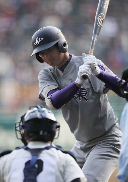 センバツ1回戦で藤浪から先制本塁打を打った大谷(C)日刊ゲンダイ