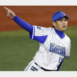 22日の阪神戦でプロ初勝利
