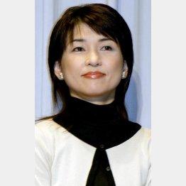 """""""ママアナ""""の先駆け松尾紀子アナ(C)日刊ゲンダイ"""
