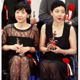 安藤サクラ(左)と安藤桃子姉妹
