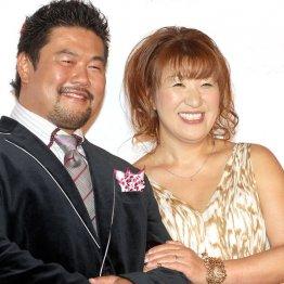 北斗晶(右)&佐々木健介夫妻