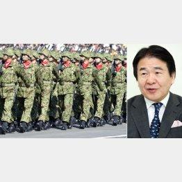 パソナグループの竹中平蔵会長(C)日刊ゲンダイ