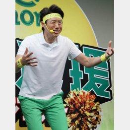 松岡修造が使うのは「スーパーゾーン」(C)日刊ゲンダイ