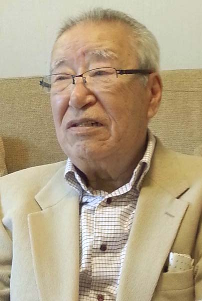 小選挙区制を批判する矢野絢也氏(C)日刊ゲンダイ