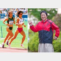 シドニー女子10000メートル(左)では決勝進出