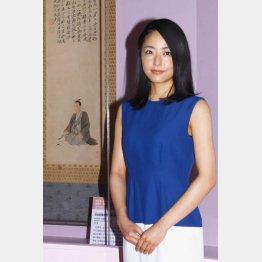 江戸東京博物館「花燃ゆ」特別展の開会式に出席(C)日刊ゲンダイ
