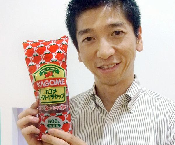 カゴメトマトケチャップ(C)日刊ゲンダイ