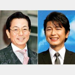 名コンビの水谷豊(左)と及川光博(C)日刊ゲンダイ